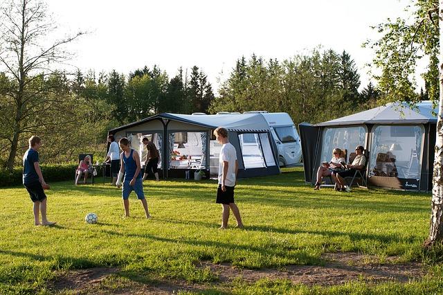 campingferie med venner